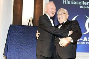 ST-Lee Kuan Yew & Henry Kissinger