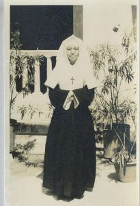 A full fledged sister of the Congregation of the Holy Infant Jesus