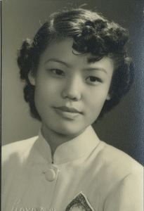 Sister Valerie in the 1950s